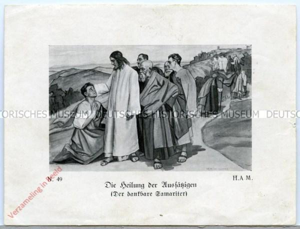 49 - Die Heilung der Aussätzigen (Der dankbare Samariter)