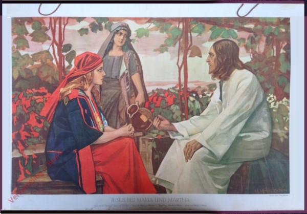 52 - Jesus bij Maria en Martha
