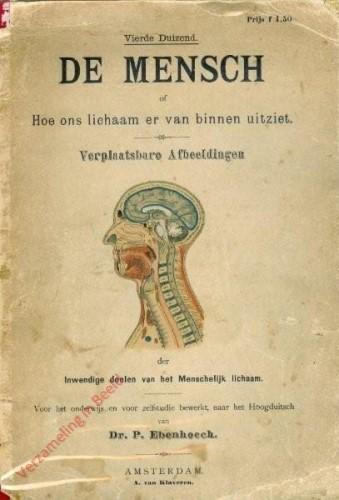 NL - De Mensch, of hoe ons lichaam er van binnen uitziet. Verplaatsbare afbeeldingen der inwendige deelen van het menschelijk li