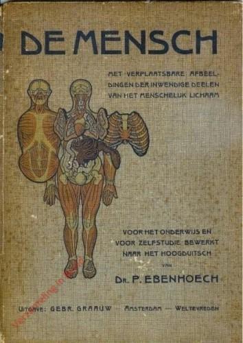 NL - De Mensch, met verplaatsbare afbeeldingen der inwendige delen van het menselijk lichaam
