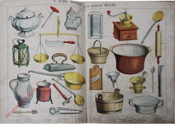 6 - Tisch-, Küchen- und andere Geräte