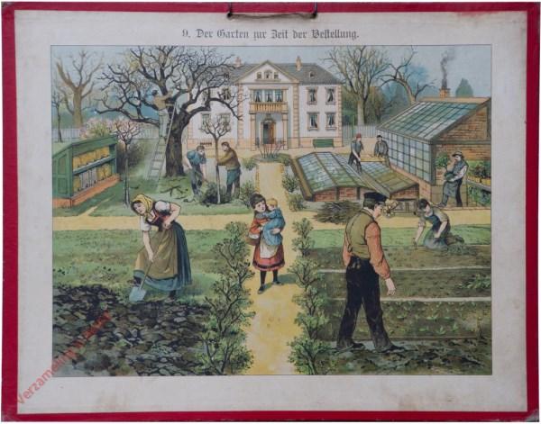 9 - Der Garten zur Zeit der Bestellung