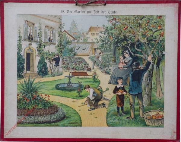 10 - Der Garten zur Zeit der Ernte