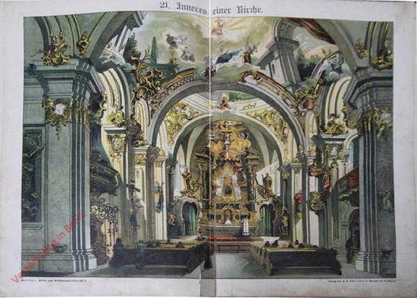 21 - Inneres einer Kirche [variant]
