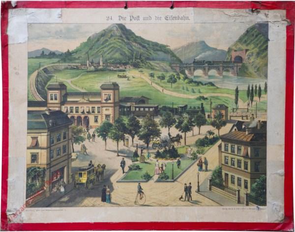 24 - Die Post und die Eisenbahn