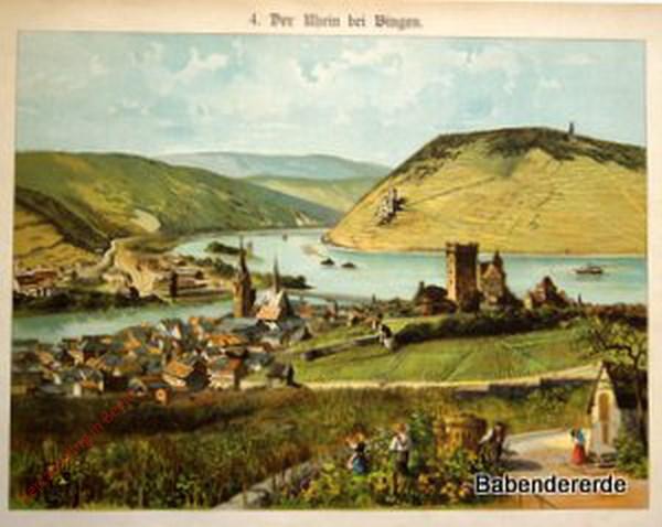 4 - Der Rhein bij Bingen