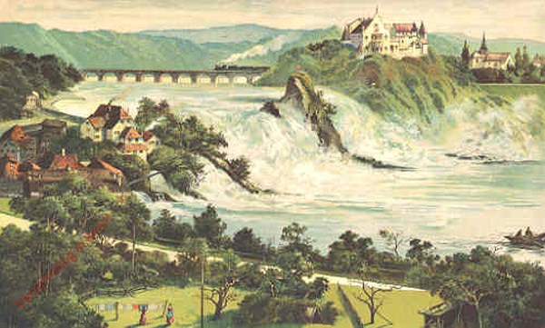 6 - Der Rheinfall beim Schaffhausen