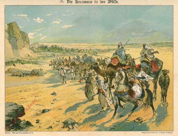 18 - Die Kwarawanen in der Wüste
