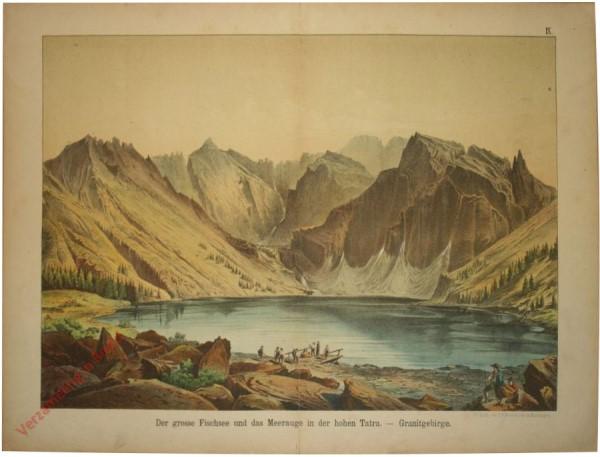 9 - Der grosse Fischsee und das Meerauge in der hohen Tatra - Granitgebirge
