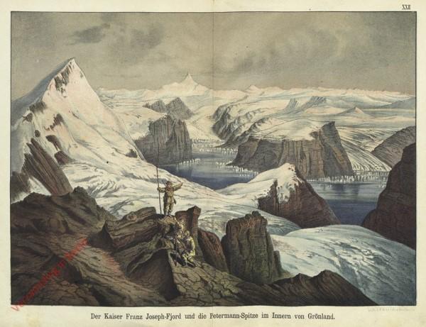 12 - De Kaiser Franz Joseph-Fjord und die Petermann-Spitze im Innern von Grönland