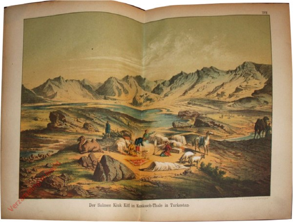 17 - Der Salzsee Kiuk Kiöl im Karakash-Thale inTurkestan