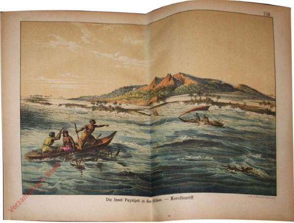 23 - Der Insel Puynipet in der Südsee - Korallenriff