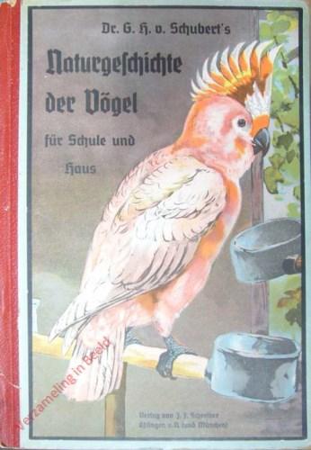 9. Auflage - Dr. G.H. Schubert's Naturgeschichte der Vögel für Schule und Haus