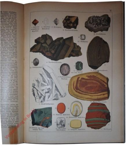 V - [Diverse mineralen]