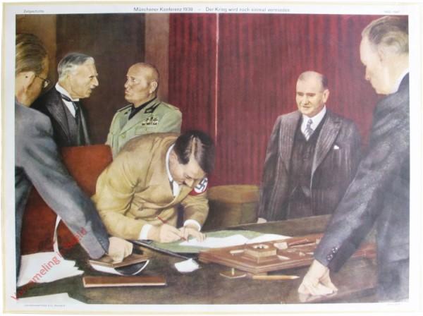 Serie II, 7 - Münchener Konferenz 1938 - Der Krieg wird noch einmal vermieden