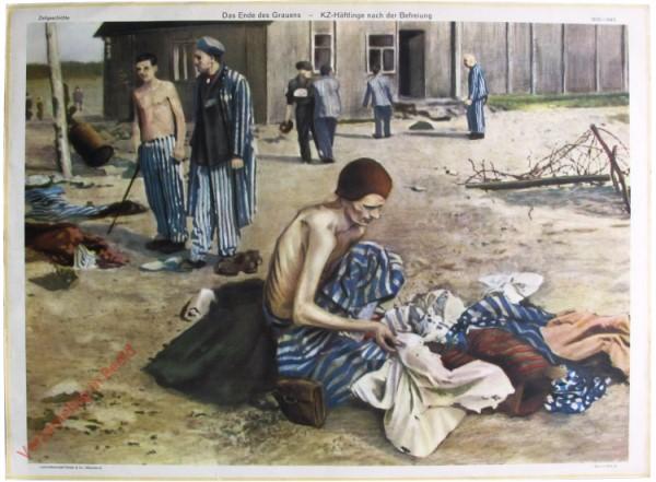 Serie II, 12 - Das ende des Grauens - KZ-Häflinge nach der Befreiung