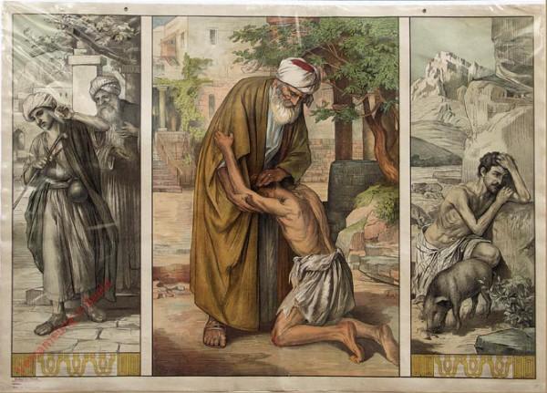 Teil B. Neues Testament, Serie 2 Bild 32 - Das Gleichnis vom verlorenen Sohn