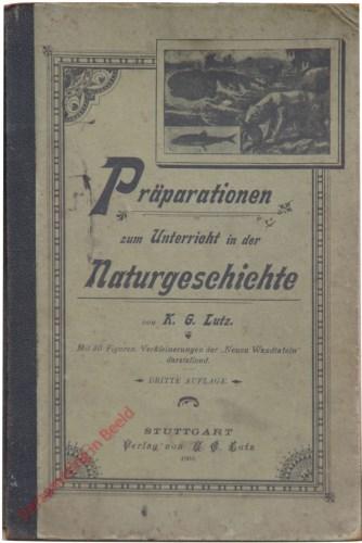 1e druk - Pr�perationen zum Unterricht in der Naturgeschichte