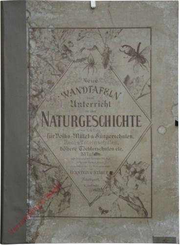 5e druk - Map: Neue Wandtafeln zum Unterricht in der Naturgeschichte f�r Volks-, Mittel- und B�rgerschulen