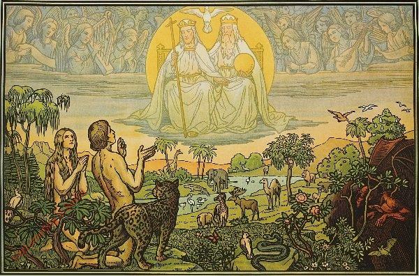 2 - Adam und Eva im Paradies
