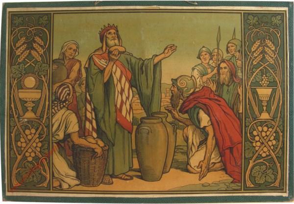 8 - Abraham und Melchisedech