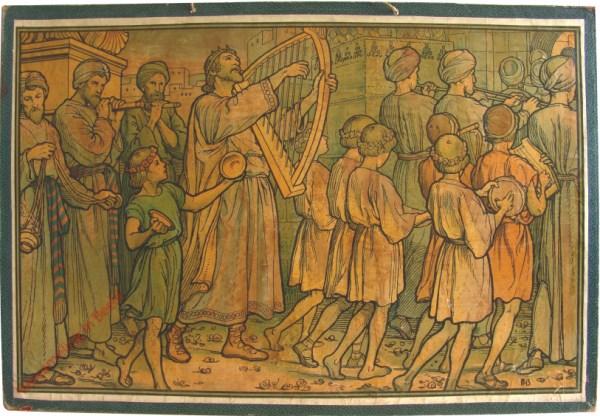 16 - [David als koning voor der ark]