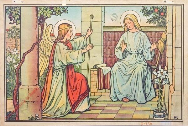 17 - Verk�ndigung der Geburt Christi