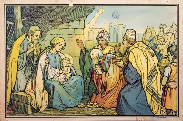 19 - Anbetung durch die Heiligen Drei Könige