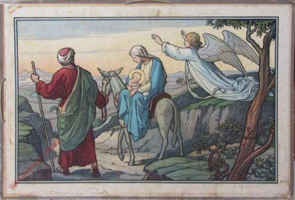 20 - Marie und Joseph auf der Flucht nach Ägypten