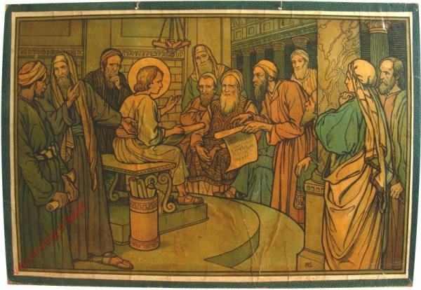 23 - Christus unter den Schriftgelehrten