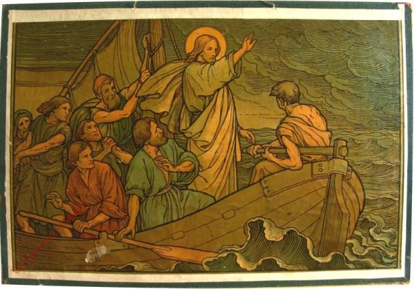 29 - Christus beruhigt den Sturm auf dem See von Galilaea