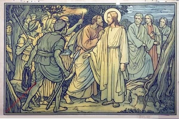 40 - Gefangennahme Christi