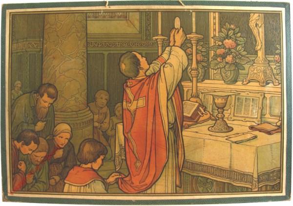52 - De zeven sacramenten. De eucharistie