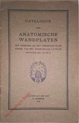 Catalogus van anatomische wandplaten