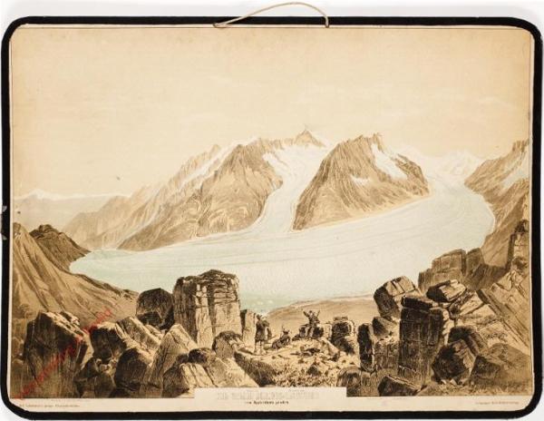 12? - Der Grosse Aletsch-Gletscher vom Eggischhorn gesehen