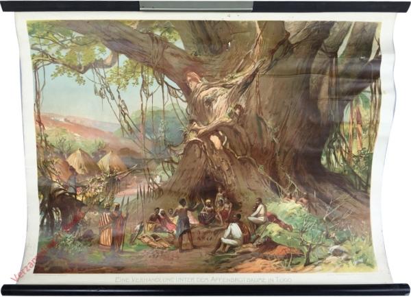 1 - Eine verhandlung unter dem Affenbrotbaume in Togo