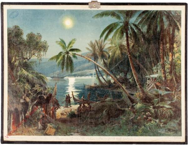 6 - Mondscheinnacht im Hafen von Apia auf Samoa