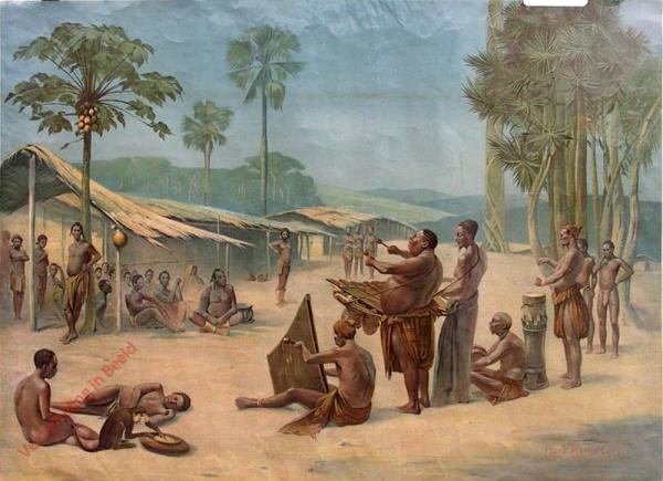 11 - Kongo (Dorf In Neukamerun)
