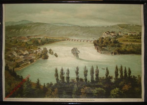 G 8 - Der Rheinfall bei Schaffhausen