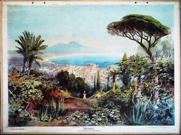 G 15 - Neapel vom Klostergarten von San Martino gesehen