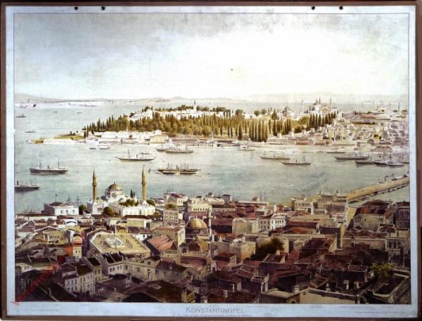 G 16 - Konstantinopel. Von Pera gesehen (Vordergrund Galata, Hintergrund Stambul)