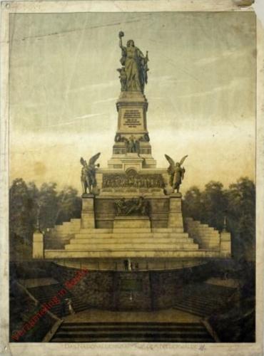G 25 - Das Nationaldenkmal auf dem Niederwalde