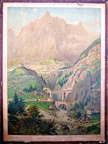 G 34 - Die Gotthardbahn bei Wassen
