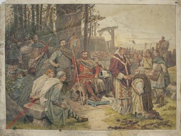 K.I.5 - Sendgrafengericht. Zeit Karls des Grossen