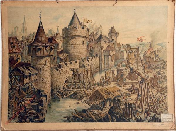 K.I.6 - Belagerung vor Erfindung des Schießpulvers (XIV. Jahrhundert)