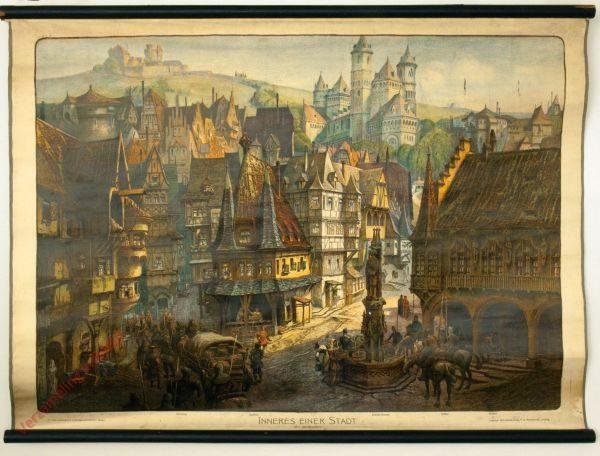 K.I.7 - Inneres einer Stadt (XV. Jahrhundert)