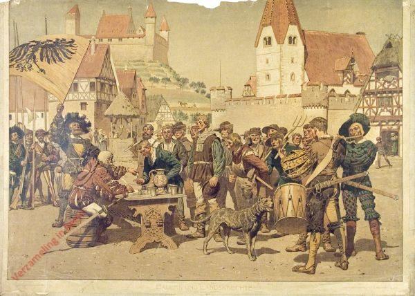 K.I.10 - Bauern und Landsknechte (XVI. Jahrhundert)