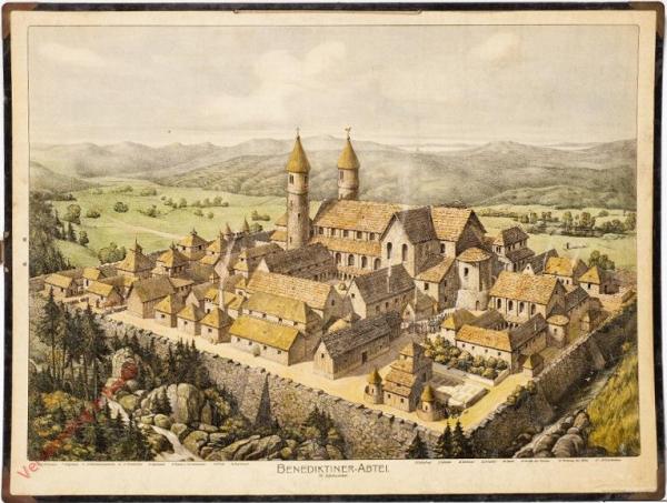 K.I.13 - Benediktinerabtei (IX. Jahrhundert)