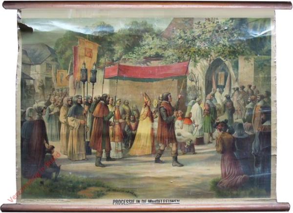 K.I.18 - Mitteralterlichte Prozession (XV. Jahrhundert)
