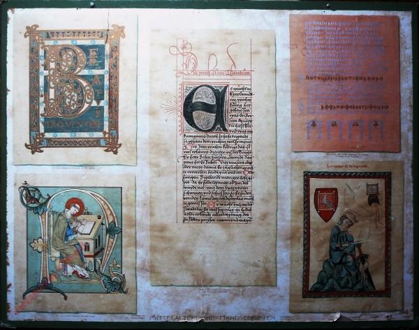 K.I.19 - Mitteralterlichte Handschriften, 6, 10., 13., 14. 16. Jahrhundert